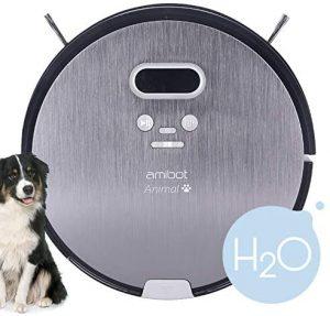 aspirateur robot laveur Amibot Animal Premium H2O