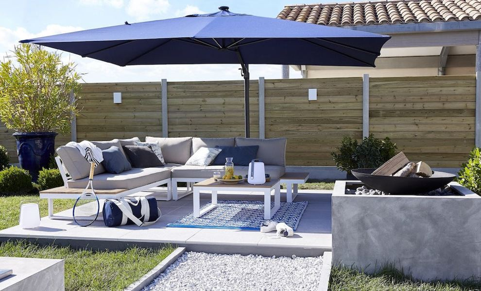 ombrage terrasse - parasol