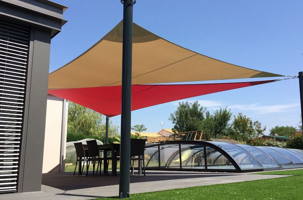 ombrager terrasse - voile d ombrage