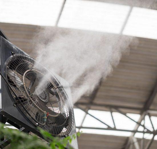 ventilateur brumisateur interieur avantages