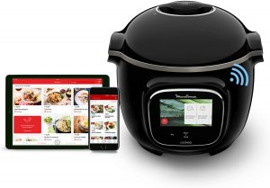 Moulinex Cookéo Touch Wifi - equivalent thermomix