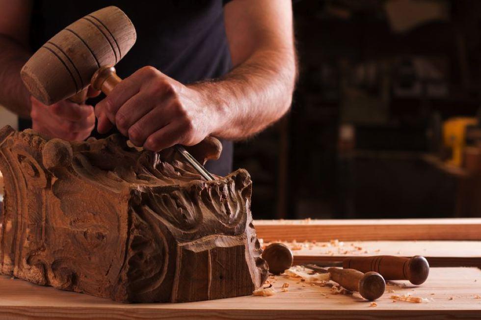 bois sculpte decoration