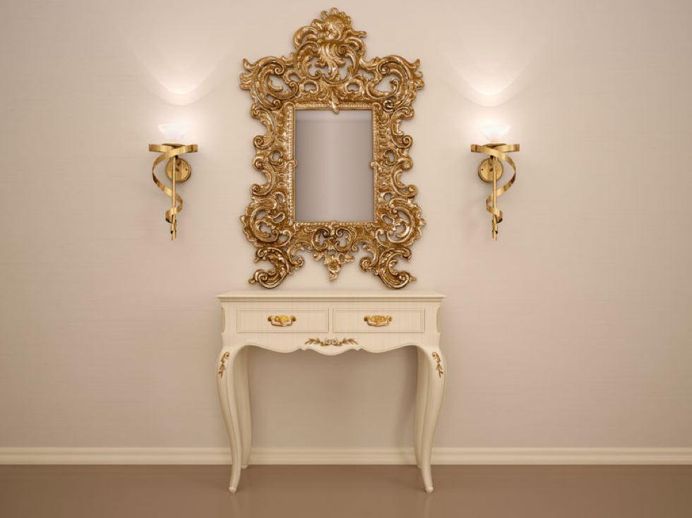 cadre baroque decoration